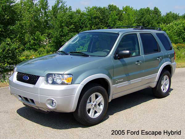 2005 Ford Escape Hybrid Road Test