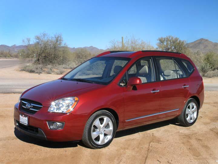 2007 Kia Rondo Road Test Review Carparts