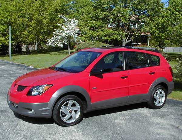 2003 Pontiac Vibe Road Test