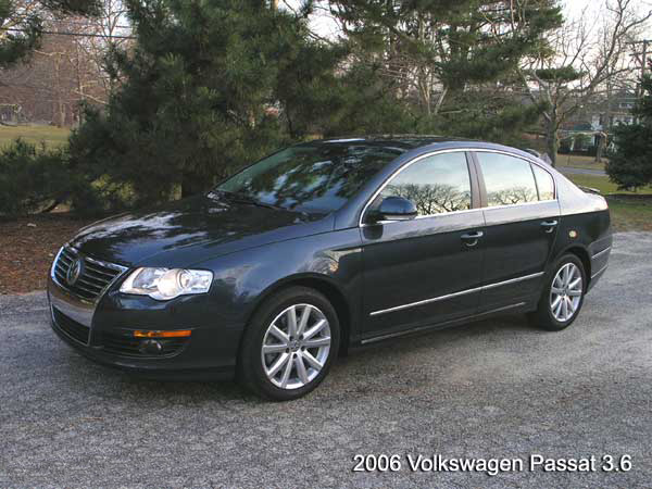 2006 volkswagen passat 3 6 road test. Black Bedroom Furniture Sets. Home Design Ideas
